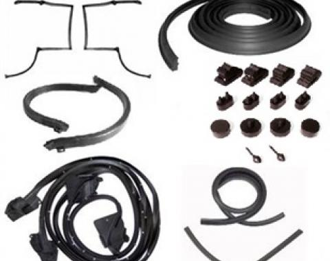 Camaro Weatherstrip Kit, for Cars with Fisher T-Tops, 1979-1981