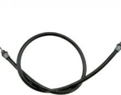 Camaro Rear Parking Brake Cable, Left or Right, 1990-1992