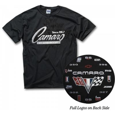 Camaro Generation T-Shirt, Black