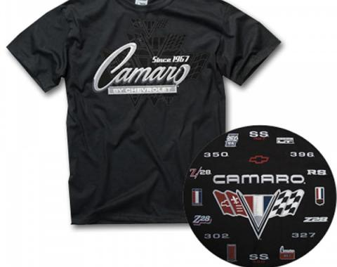 Camaro Generation T-Shirt, Black