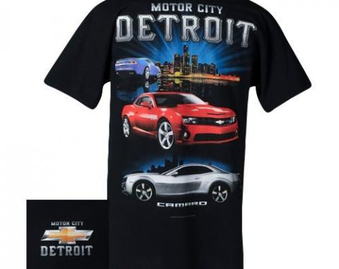 Camaro T-Shirt, Motor City Detroit