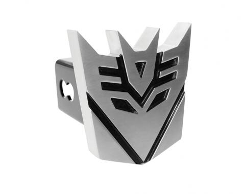 DefenderWorx Transformers Decepticon Hitch Cover Black And Chrome 900357