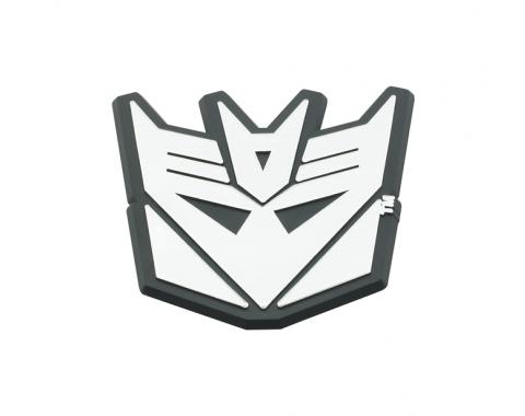 DefenderWorx Decepticon Trunk Badge Black And Chrome 900487
