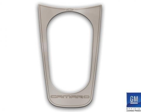 DefenderWorx Camaro Stainless Cup Holder Cover For 10-13 Camaro Chrome CC-1017