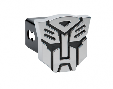 DefenderWorx Transformers Autobot Hitch Cover Black And Chrome 900358