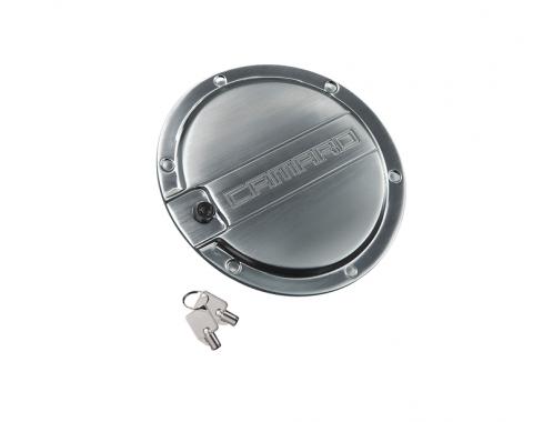 DefenderWorx Camaro Locking Fuel Door Brushed 10-15 Camaro CS-1006