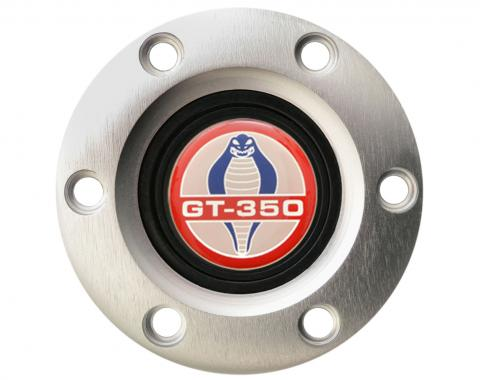 Volante S6 Series Horn Button Kit, Ford GT350, Brushed