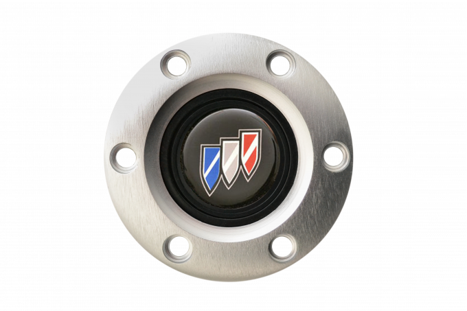 Volante S6 Series Horn Button Kit, Buick, Brushed