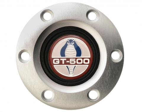 Volante S6 Series Horn Button Kit, Ford GT500, Brushed