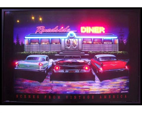 Neonetics Neon/led Pictures, Roadside Diner Neon/led Picture
