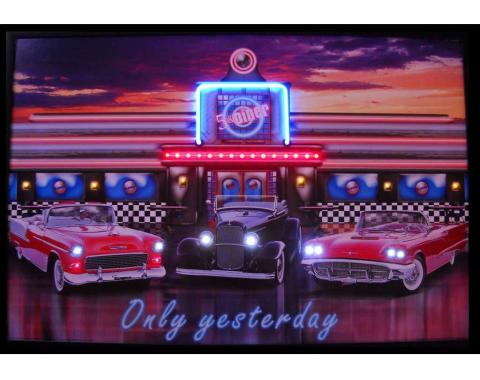 Neonetics Neon/led Pictures, Only Yesterday Neon/led Picture