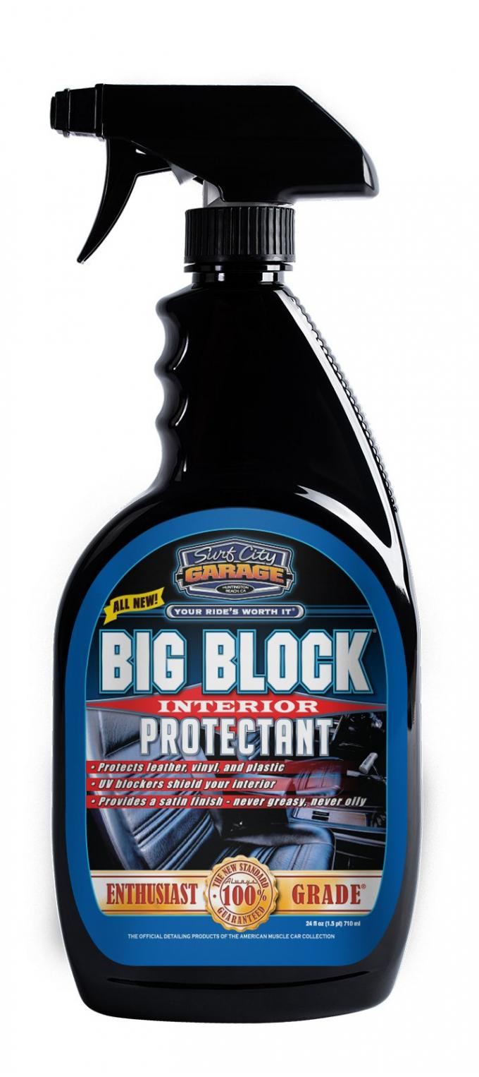 Surf City Garage Big Block® Interior Protectant, 24 Ounce