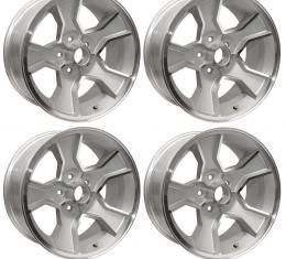 Camaro Z28 Aluminum Wheel Set, N90, 17x8, 4 1/4 Backspace, 1980-1981