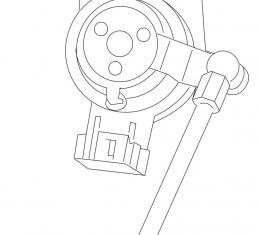 Camaro Ride Control Rear Leveling Sensor, Left, 2013-2015