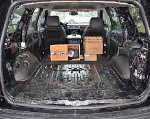 HushMat Volkswagen EuroVan 1993-2003   Door Sound Deadening Insulation Kit 682903