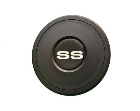 Volante S9 Series Horn Button Kit, Silver Super Sport