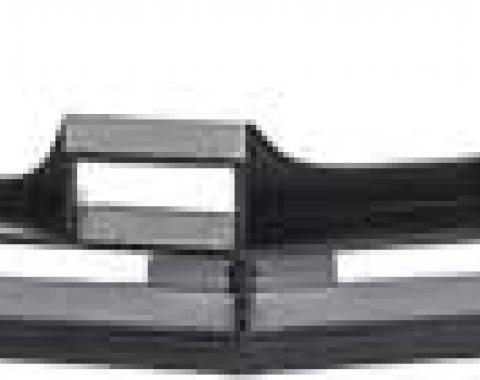 Camaro Lower Grill, Z28, Black, 1974-1977