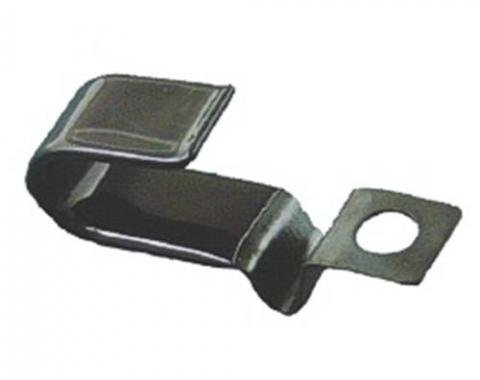 Camaro Battery Cable Retaining Clip, Oil Pan, For Positive Cable, 1967-1981