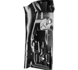 Camaro Full Length Floor Pan with Toe Board & Transmission Tunnel, Right, 1975-1981