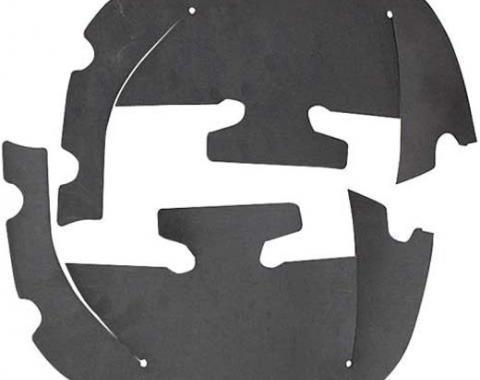 Camaro Control Arm Dust Shields, 1967-1968