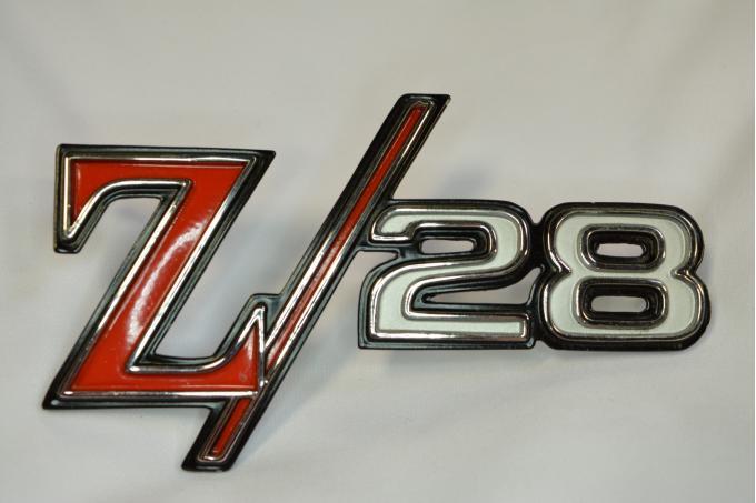 Camaro Fender Emblem, Z28, GM, 1969