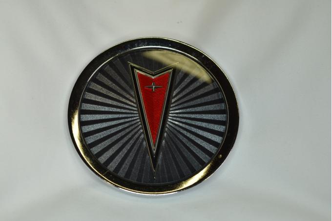 Pontiac Wire Wheel Center Cap Emblem