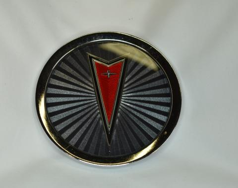 Pontiac Wire Wheel Center Cap Emblem