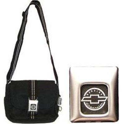 Seat Belt Purse, with Chevy Logo