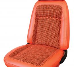 Distinctive Industries 1969 Camaro Deluxe Houndstooth Convertible w/Buckets Front & Rear Upholstery Set 072713