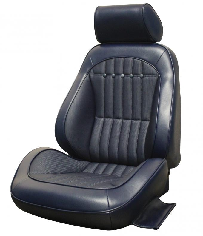 Distinctive Industries 1969 Camaro Deluxe Touring II Front Assembled Bucket Seats (Simulated Comfort Weave) 072499
