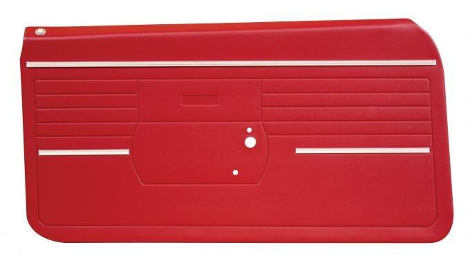 Distinctive Industries 1968 Camaro Standard Front Door Panels, Preassembled 073718P
