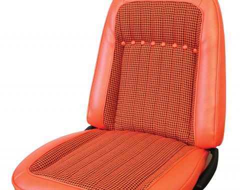 Distinctive Industries 1969 Camaro Deluxe Houndstooth Coupe w/Buckets Front & Rear Upholstery Set 072712
