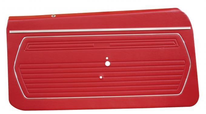 Distinctive Industries 1969 Camaro Standard Front Door Panels, Preassembled 073726P