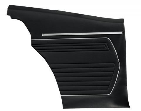 Distinctive Industries 1969 Camaro Standard Coupe Rear Quarter Panels, Preassembled 073759P