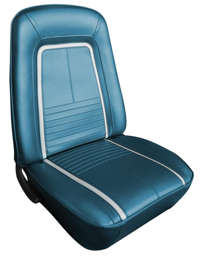 Distinctive Industries 1967 Camaro Deluxe w/Buckets w/Folding Rear Front & Rear Upholstery Set 072165