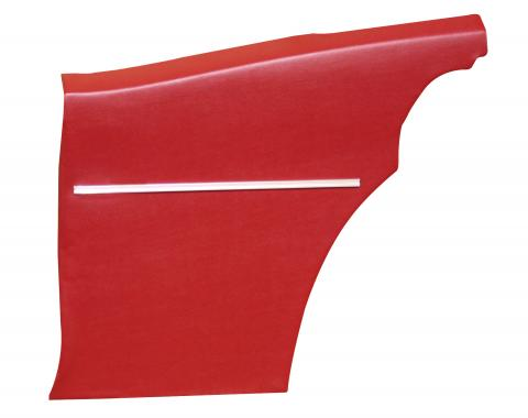 Distinctive Industries 1968-69 Camaro Deluxe Coupe Rear Quarter Panels, Preassembled 073817P