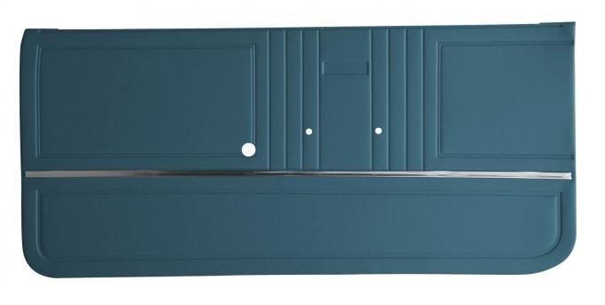 Distinctive Industries 1967 Camaro Standard Front Door Panels, Preassembled 073700P