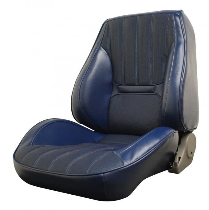Distinctive Industries 1970 Camaro Deluxe Touring II Front Assembled Bucket Seats (Simulated Comfort Weave) 072562
