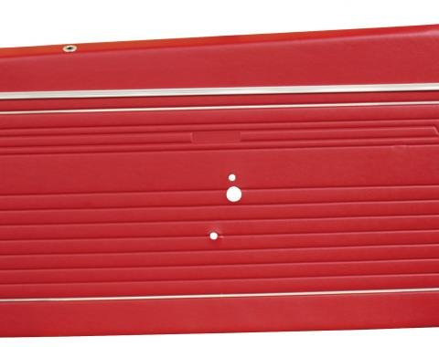 Distinctive Industries 1969 Camaro Standard Front Door Panels, Preassembled 073726P