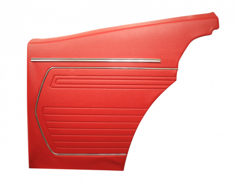 Distinctive Industries 1969 Camaro Standard Coupe Rear Quarter Panels, Unassembled 073759