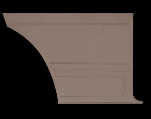 Distinctive Industries 1967 Camaro Standard Coupe Rear Quarter Panels, Unassembled 073734