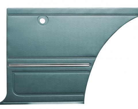 Distinctive Industries 1967 Camaro Standard Coupe Rear Quarter Panels, Preassembled 073734P