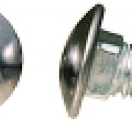 Camaro Bumper Mounting Bolt, Short, Front & Rear, Stainless Steel Capped, 1967-1969