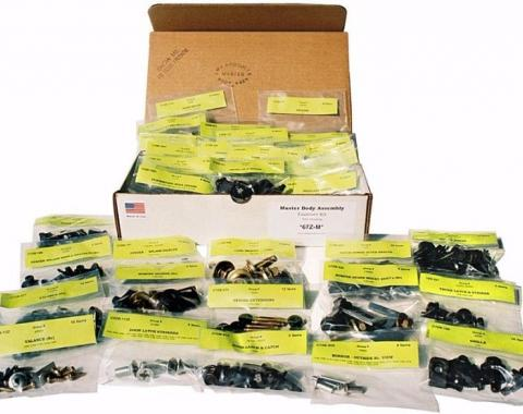 Camaro Master Body Assembly Hardware Kit, 1980-1981