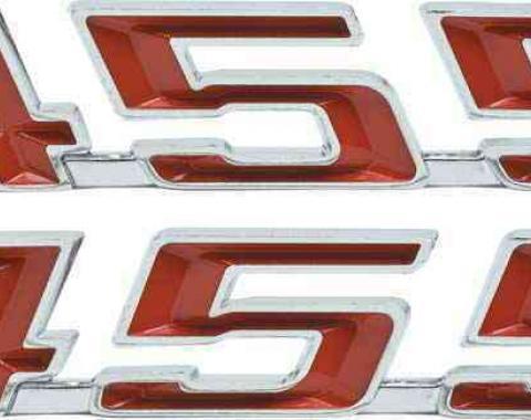 Firebird Hood Emblems, 455, 1967-1969