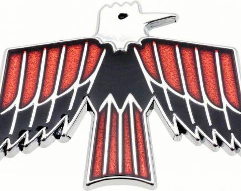 Firebird Door Panel Bird Emblem, Deluxe, 1968-1969