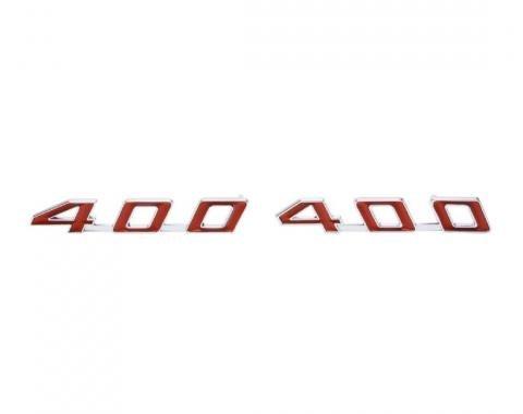 Firebird Hood Emblems, 400, 1967-1969