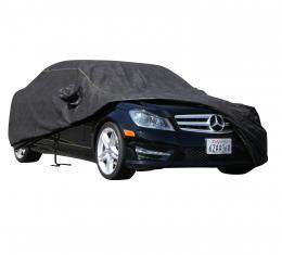 CHEVROLET CAMARO Waterproof Max Series Car Cover, Black with Mirror Pockets, 1993-2002