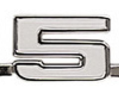"Classic Headquarters ""350"" Fender Emblem, Each W-356A"