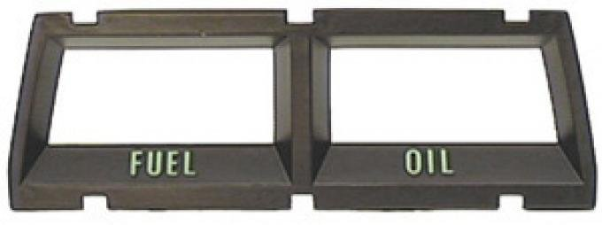 Classic Headquarters Console Fuel and Oil Bezel W-210